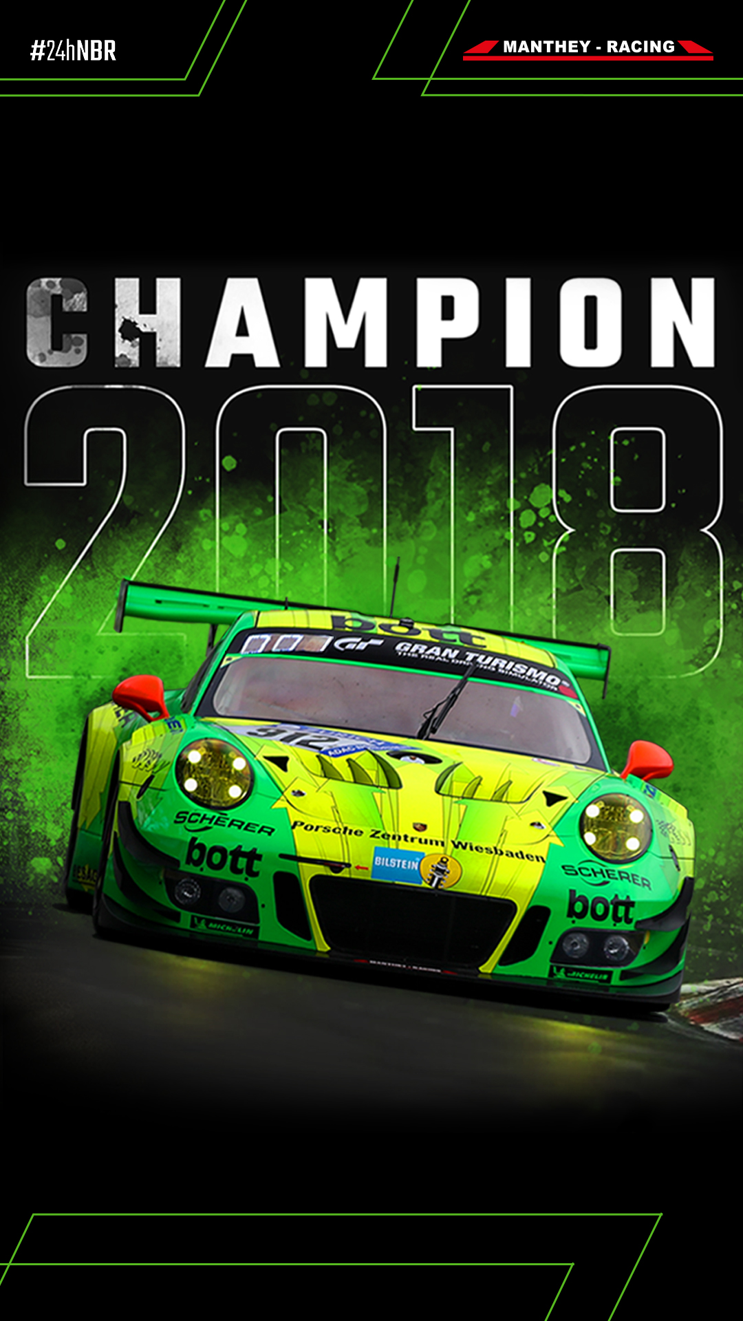Downloads Wallpaper Iphone 7 8 Plus Manthey Racing